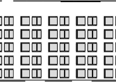 Uspořádání školicí místnosti